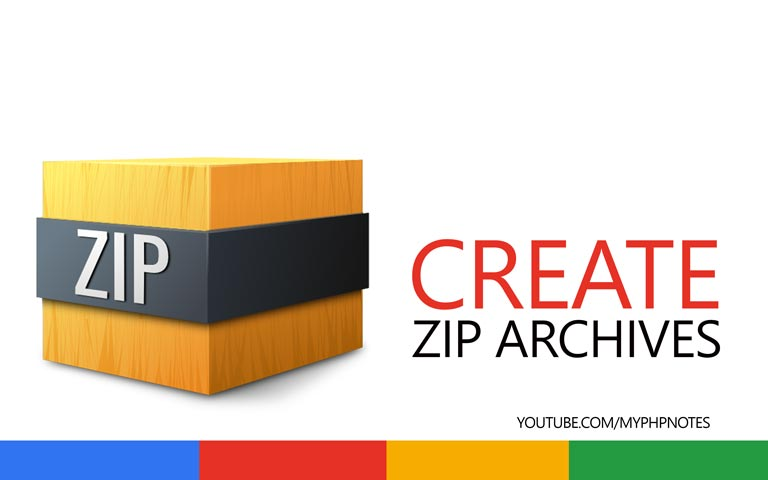 Create ZIP Archives in PHP image