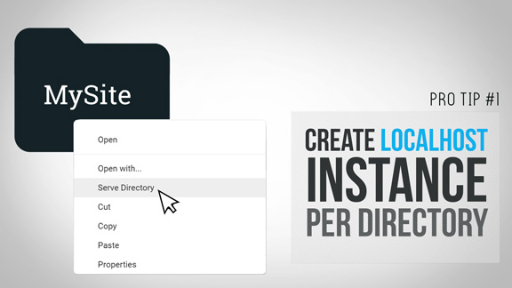 Dev Pro Tip - Create Localhost Instance Per Directory image