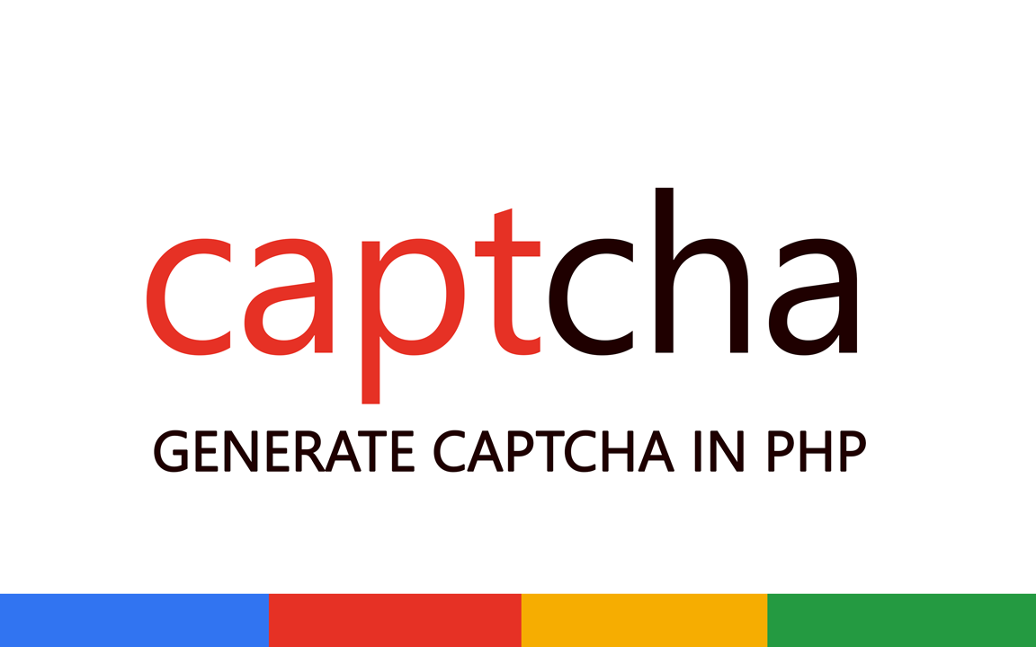 Generate Captcha in PHP image