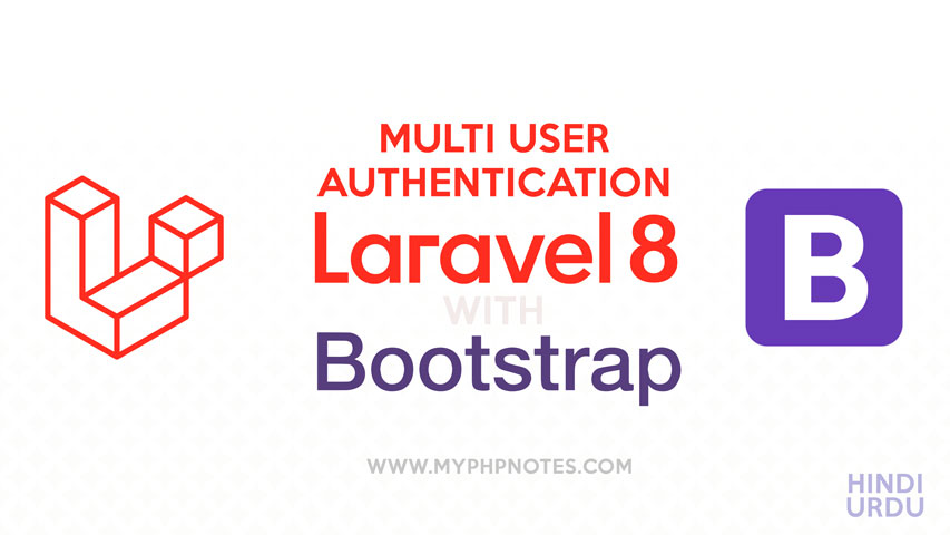Multi Authentication System in Laravel 8 image