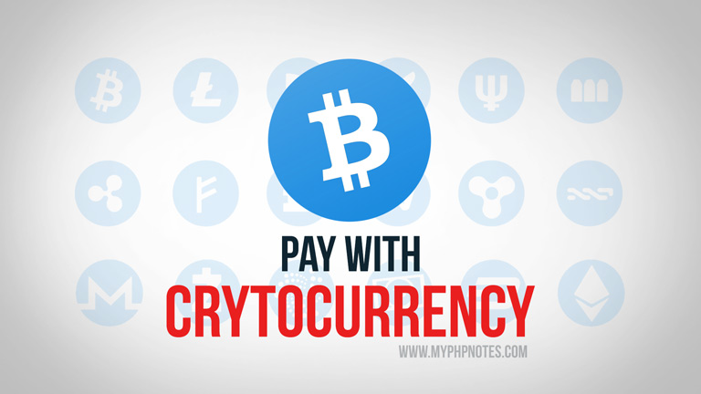 Pay with Bitcoin / Cryptocurrency with PHP image