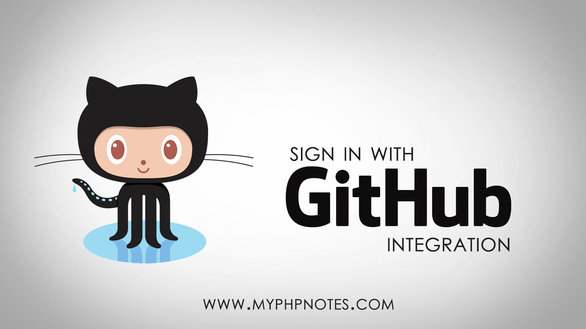 Sign in with GitHub - OAuth Integration image