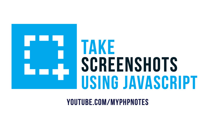 Take Screenshots using Javascript image